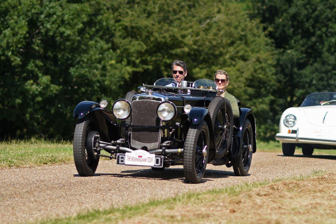 1935 Frazer Nash TT replica at Heveningham Hall Concours d'Elegence 2017. Credit Rufus Owen