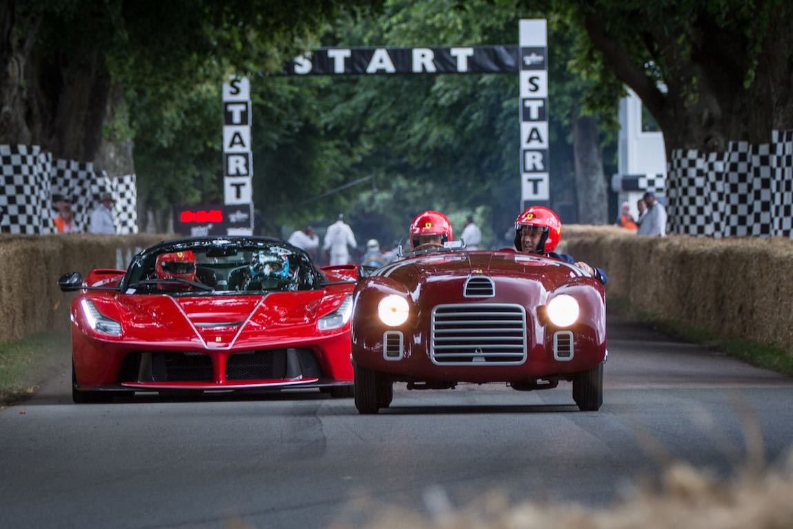 Ferrari 125 S and LaFerrari Aperta