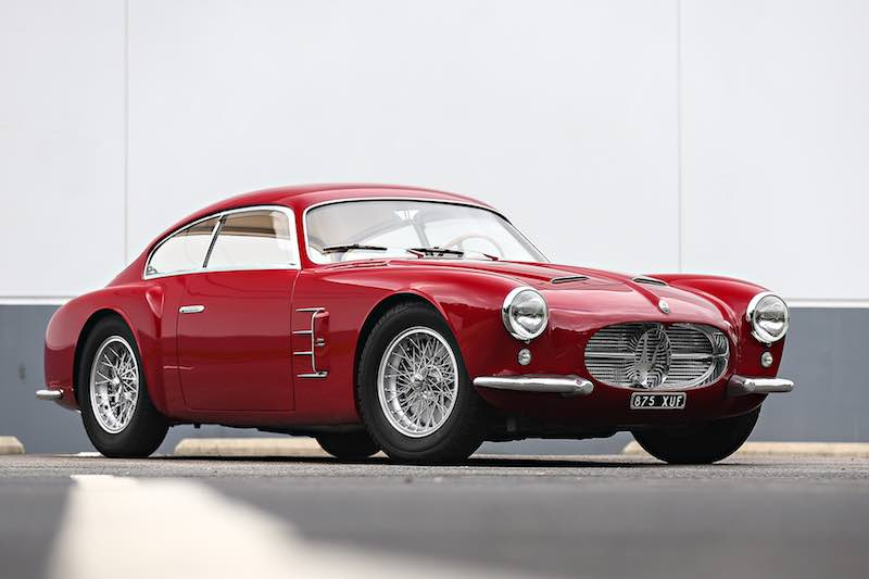 ... Italian Sports Cars Offered For Sale. 1956 Maserati A6G/54 Berlinetta  (Photo: Mathieu Heurtault)