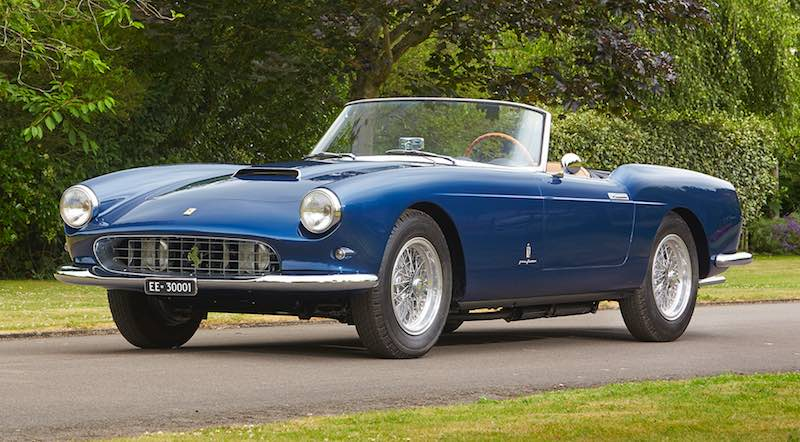 1959 Ferrari 250 GT Series I Cabriolet (photo: Matt Howell)