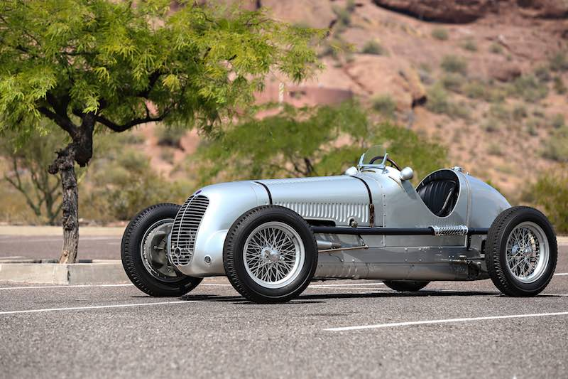 1937 Maserati 6CM (Photo: Mathieu Heurtault)