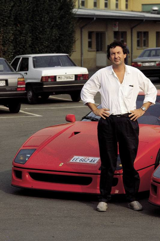 Nick Mason, Pink Floyd at Maranello (1992)