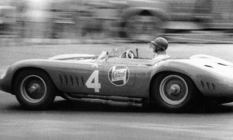 Juan Manuel Fangio racing the 1957 Maserati 300S, chassis 3069