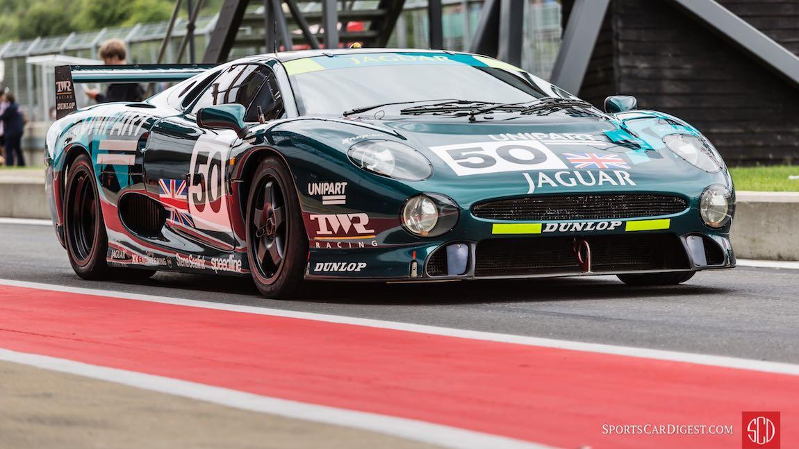 TWR Racing Jaguar XJ220