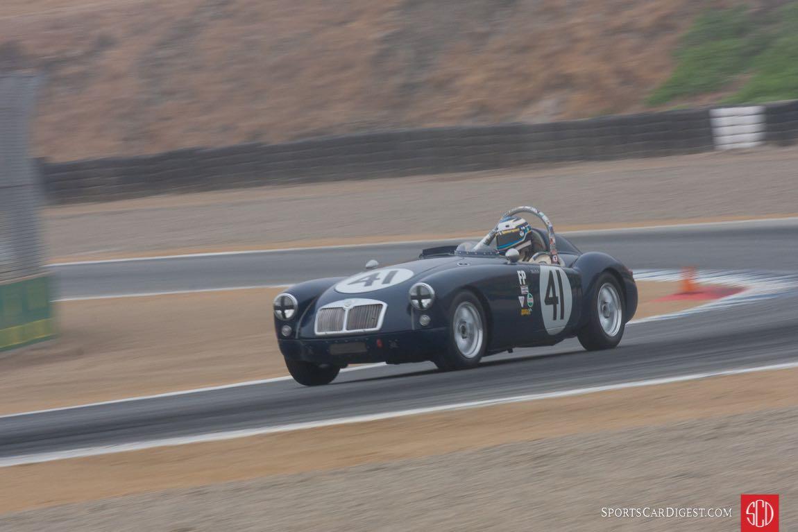 Michael Silverman - 1957 MG MGA