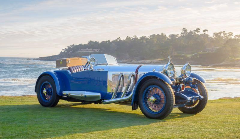 1929 Mercedes-Benz S Barker Tourer Bruce R. McCaw, Bellevue, WA Copyright Kimball Studios / Courtesy of Pebble Beach Concours d'Elegance