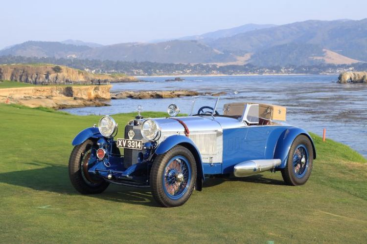 1929 Mercedes-Benz S Barker Tourer, Best of Show Winner at the 2017 Pebble Beach Concours d'Elegance (photo: Richard Michael Owen)