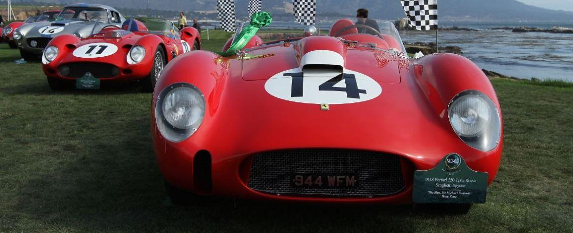 1958 Ferrari 250 Testa Rossa Scaglietti Spider chassis 0728