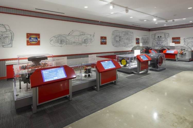 Rob and Melani Walton Discovery Center at Petersen Automotive Museum