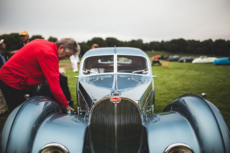 Best of Show Pre-War - 1936 Bugatti 57 SC Atlantic