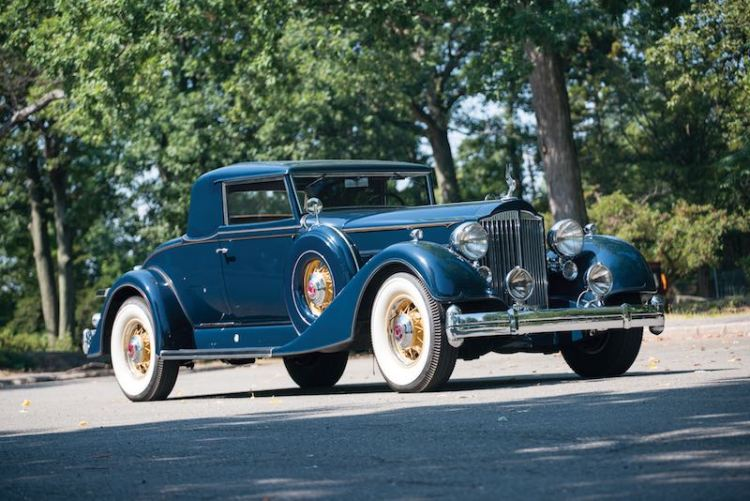 1934 Packard Twelve 2/4-Passenger Coupe, chassis 902316 (photo: Erik Fuller)