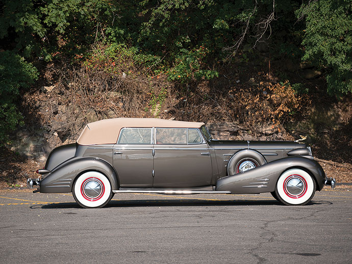 1936 Cadillac V-16 Convertible Sedan by Fleetwood