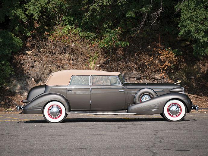 1936 Cadillac V-16 Convertible Sedan by Fleetwood