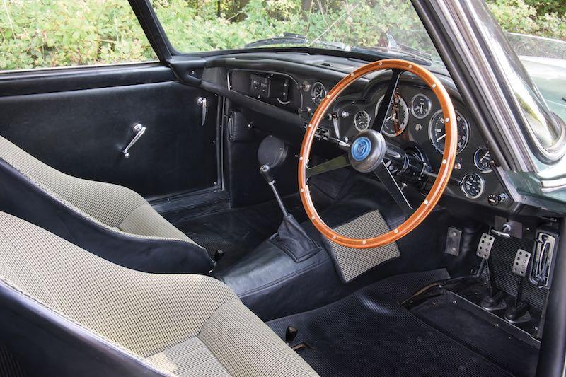 1959 Aston Martin DB4GT Prototype Interior