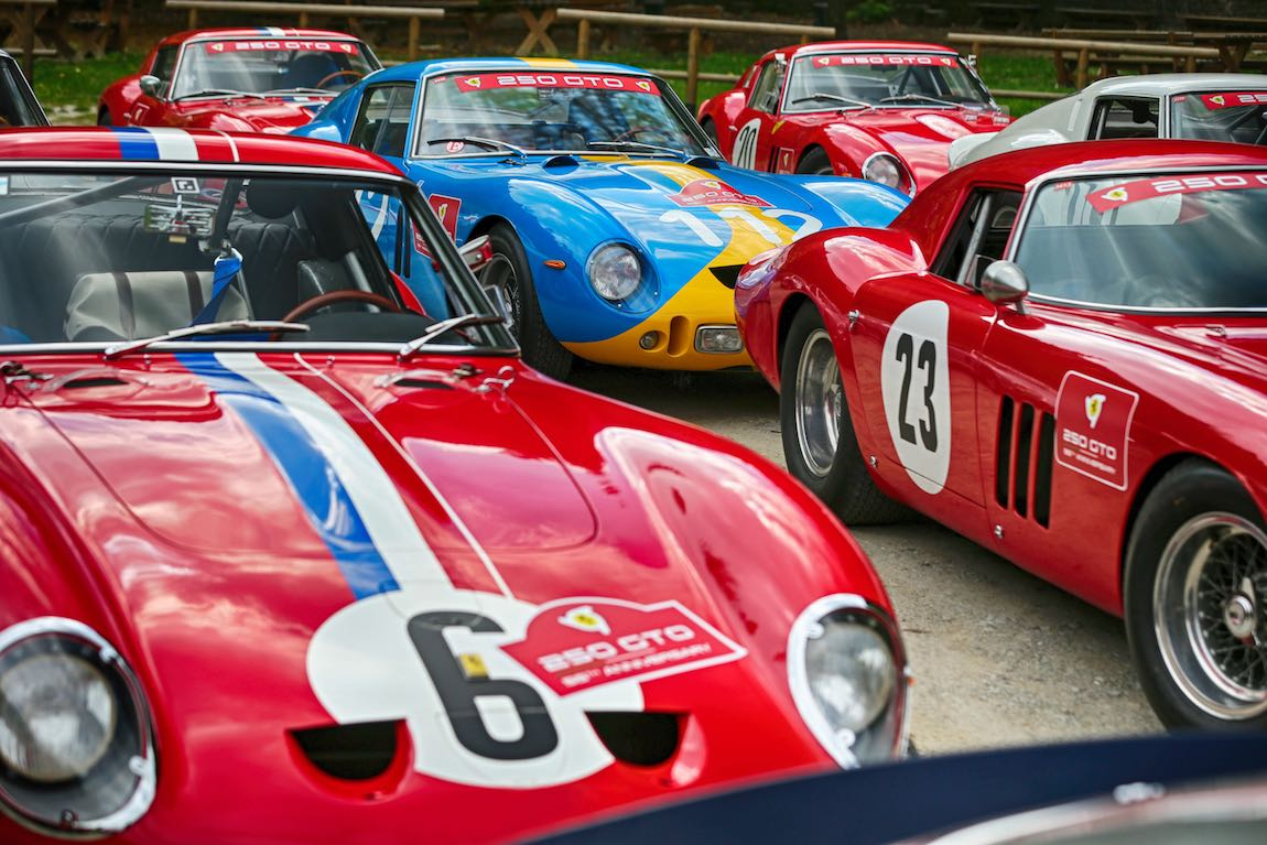 Ferrari 250 GTO 55th Anniversary Rally