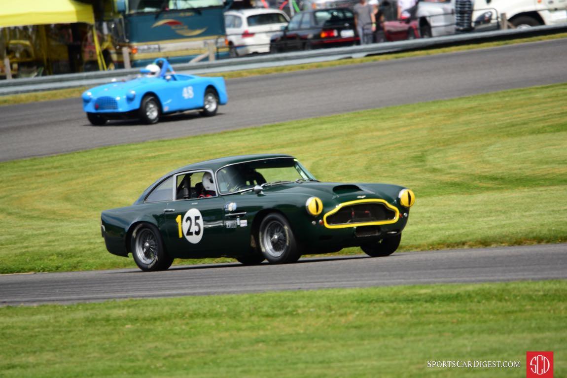 1962 Aston Martin DB4. Michael Rowan.