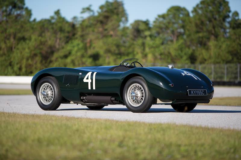 1952 Jaguar C-Type XKC 007 (photo: Ryan Merrill)