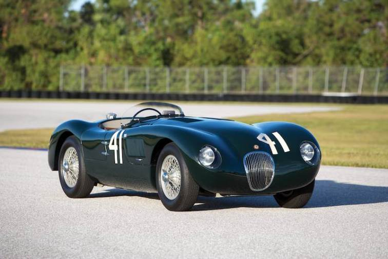 1952 Jaguar C-Type XKC 007 (photo: Ryan Merrill)