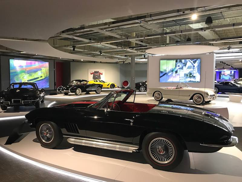 Corvette Collection - Newport Car Museum