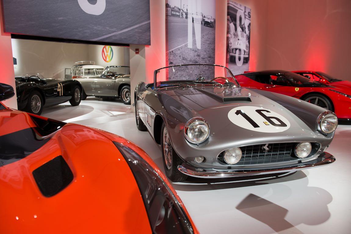 1959 Ferrari 250 GT LWB California Spider Competizione by Scaglietti Sold for $17,990,000