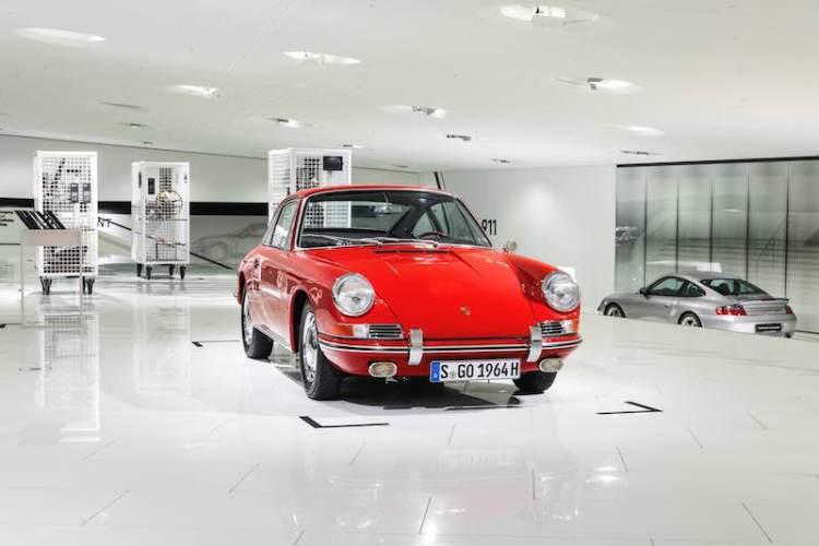 1964 Porsche 901, number 57