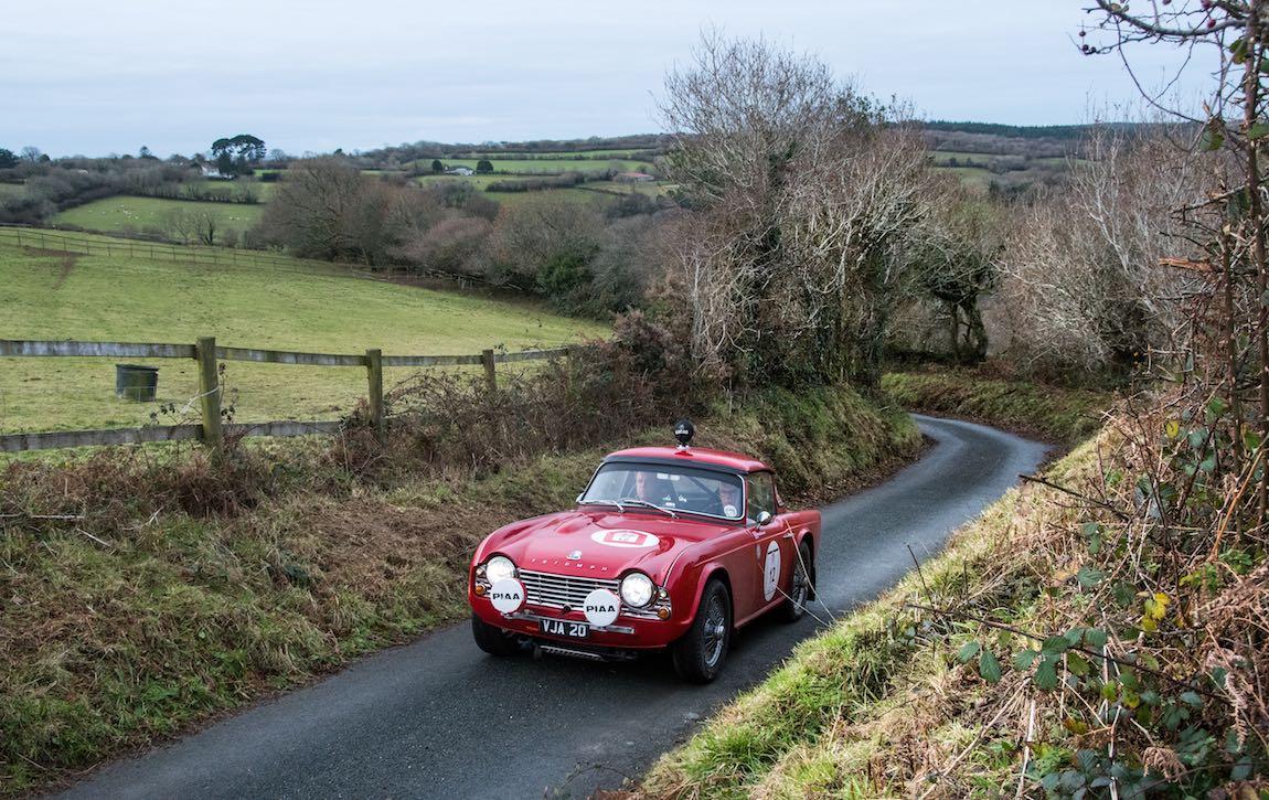 David Stanley (GBR) Peter Blackett (Eng) Triumph TR4