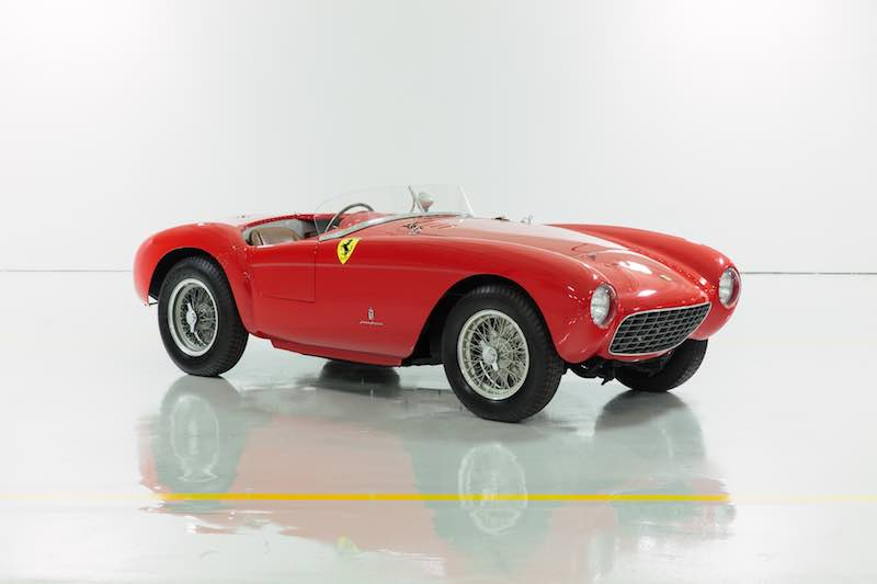1954 Ferrari 500 Mondial Series I (photo: Mike Maez)