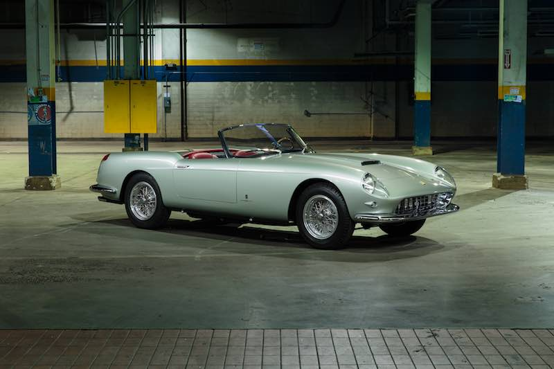 1958 Ferrari 250 GT Series I Cabriolet (photo: Mike Maez)