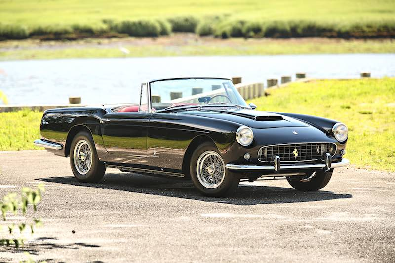 1961 Ferrari 250 GT Series II Cabriolet (photo: Mathieu Heurtault)