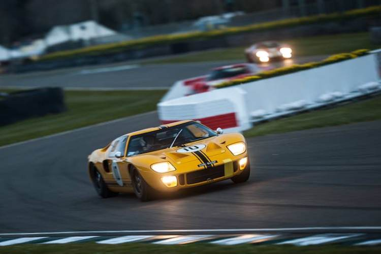 Ford GT40 at the Goodwood Members Meeting (photo: Julien Mahiels)
