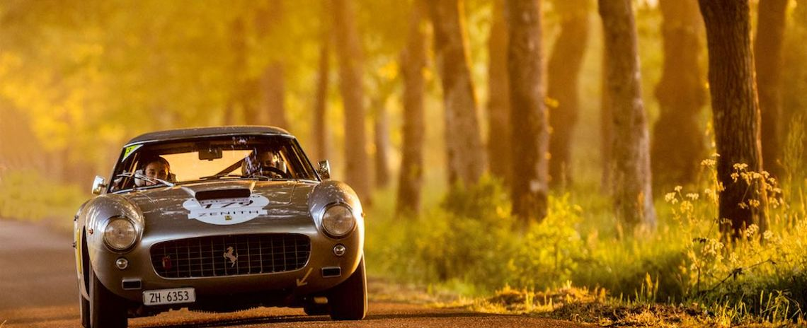 Ferrari 250 GT SWB Berlinetta on the Tour Auto (photo: Julien Mahiels)