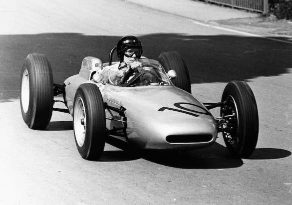 Dan Gurney at the Solitude, 1962 in the Porsche 804