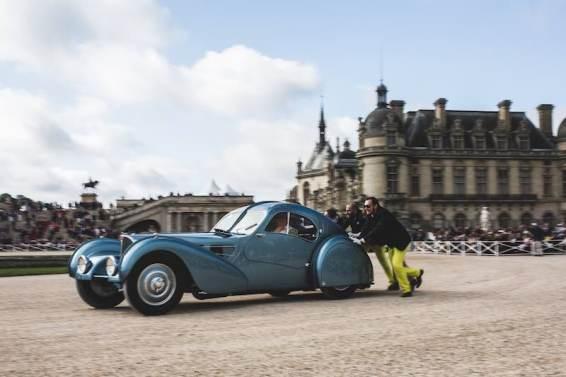 Best of Show Pre-War - 1936 Bugatti 57 SC Atlantic