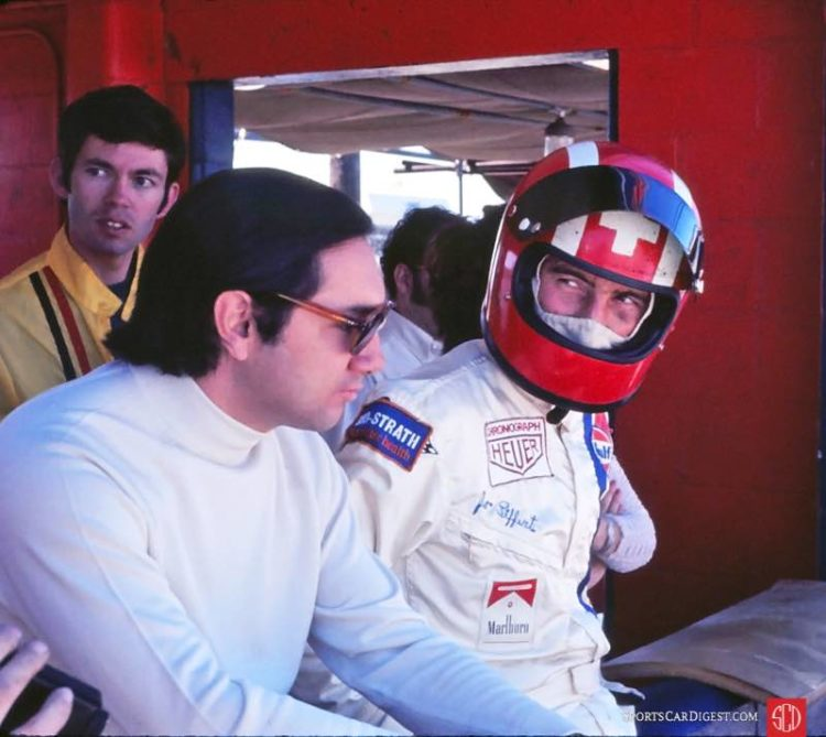 Pedro Rodriguez and Jo Siffert drove Gulf 917s at Sebring in 1970 and 1971 with little success. Bussian/Galanos photo.