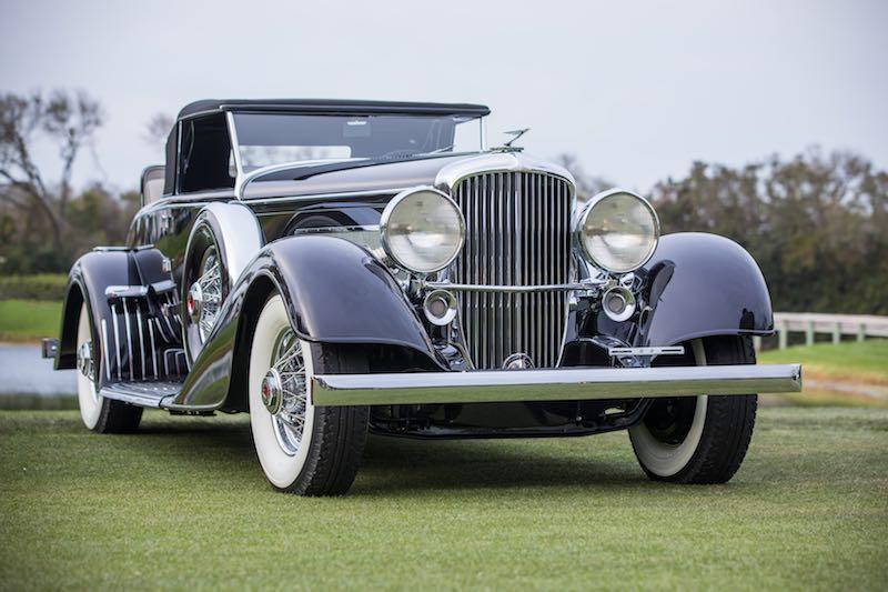 1929 Duesenberg J/SJ Convertible owned by Harry Yeaggy from Cincinnati, Ohio