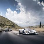 Tearing Up the Streets in a Porsche 917