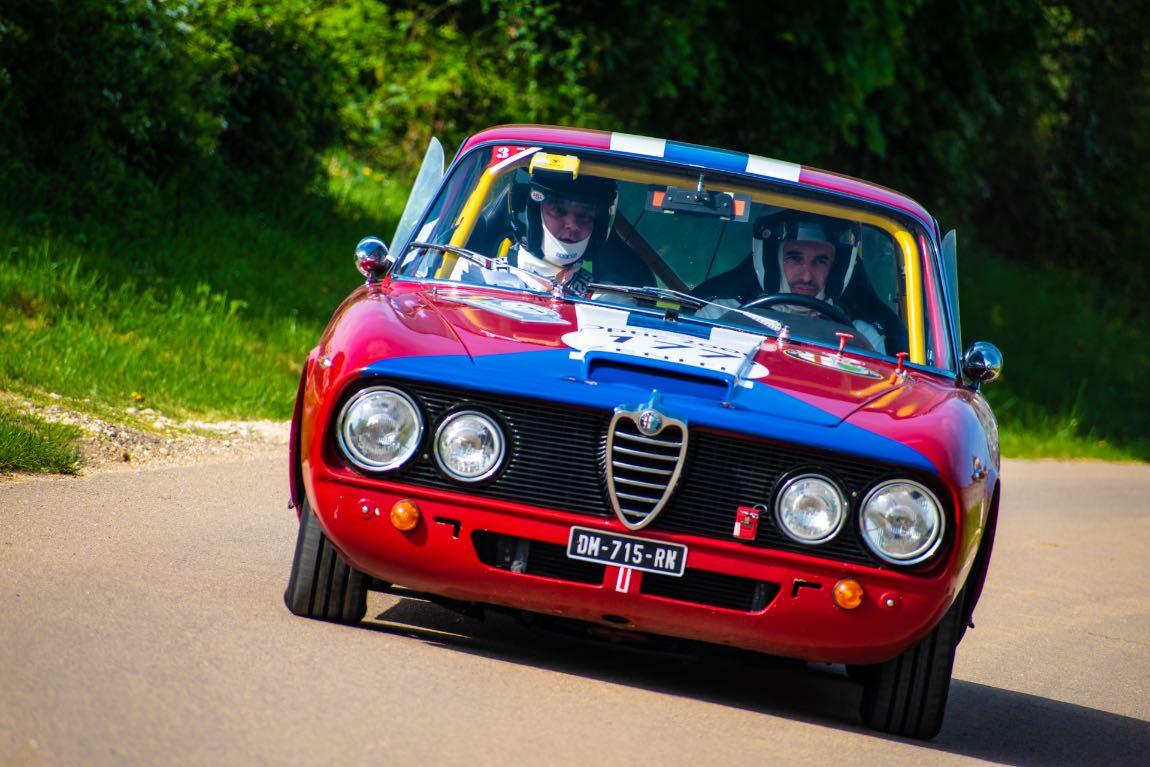 Christophe KUHBIER / Mathieu GAUTRIN FRA / FRA ALFA ROMEO 2600 Sprint 1964