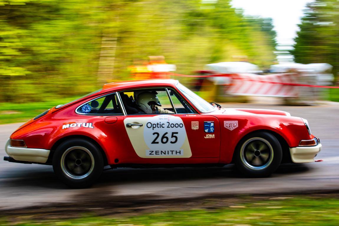 Jean-Marc MERLIN / Sophie MERLIN FRA / FRA PORSCHE 911 2,5L ST Gr.IV 1972