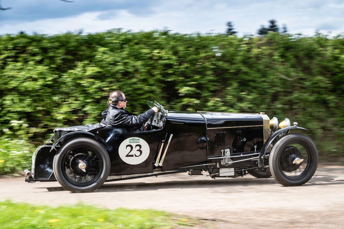 Car 23. Andrew Hall (GB) / Patrick Blakeney-Edwards (GB) 1928 Frazer Nash Saloon Owlet