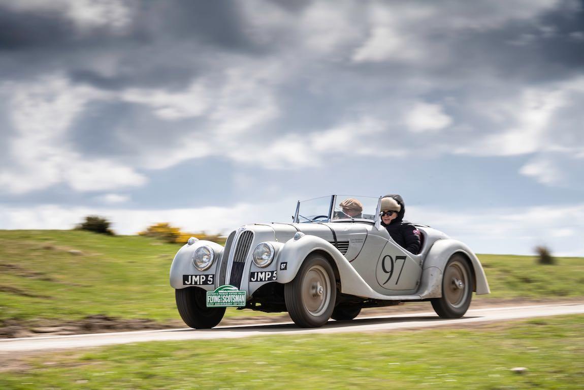 Car 97. Gavin Henderson (GB) / Diana Henderson (GB) 1939 Frazer Nash BMW 328