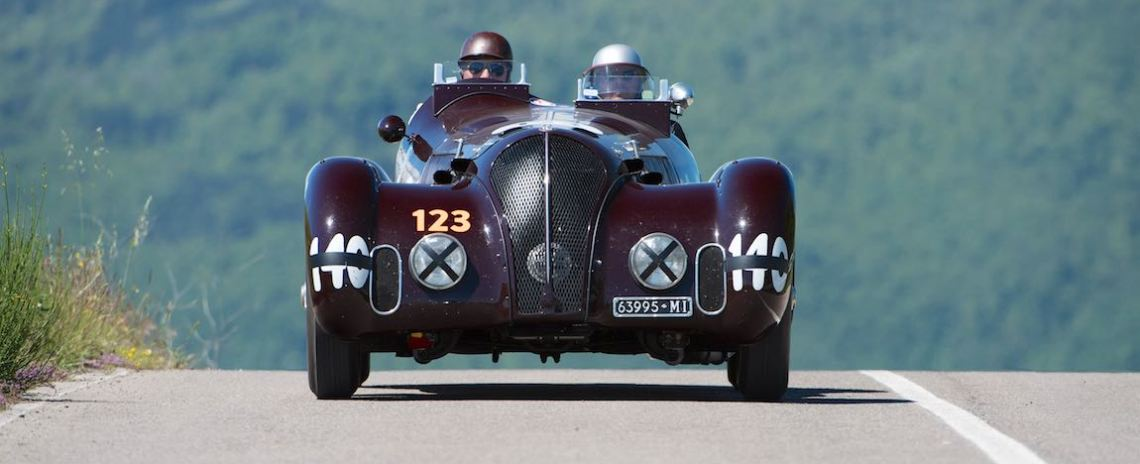 ALFA ROMEO 6C 2300 B MM SPIDER TOURING 1938