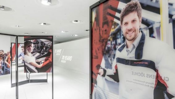 70 Years of Porsche Exhibit