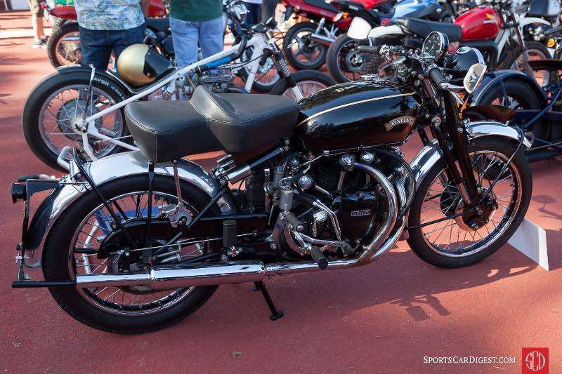 1951 Vincent Black Shadow owned by Mike Begley