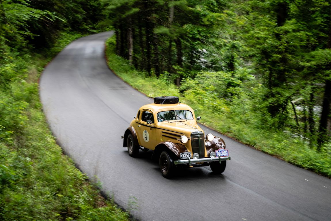 Brian Scowcroft (GB) / Catherine Scowcroft (GB) 1936 Chevrolet Coupe