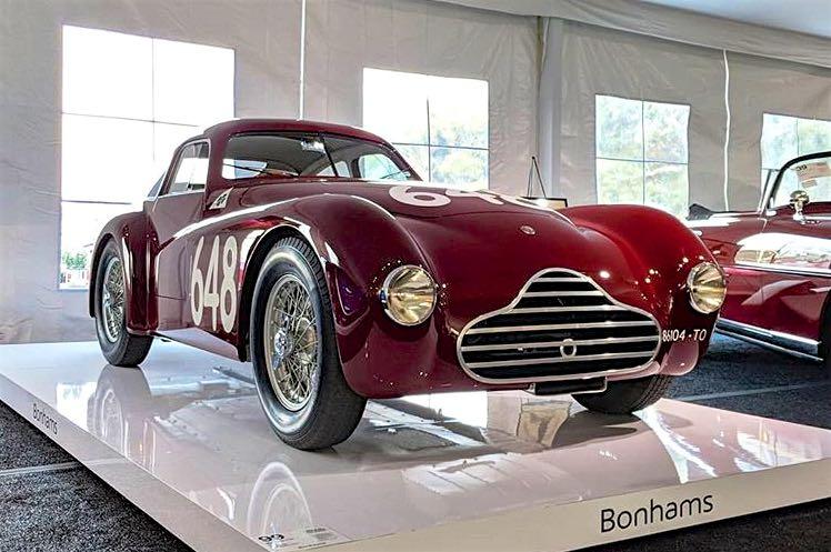 1948 Alfa Romeo 6C 2500 Competizione Berlinetta