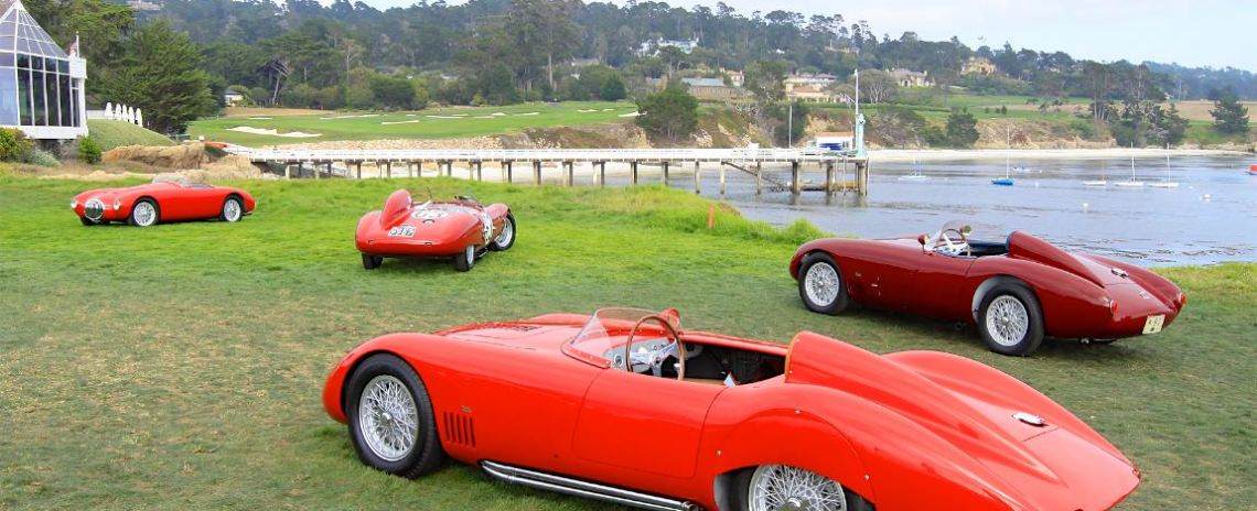 Concours D Elegance >> Pebble Beach Concours D Elegance 2018 Photos Results And Winners