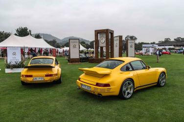2017 RUF CTR and 1987 RUF CTR Yellow Bird 001