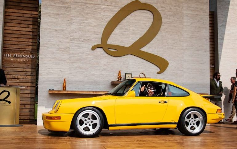 Bruce Meyer's fantastic 1987 RUF CTR Yellow Bird #001 took home the top prize in this class.