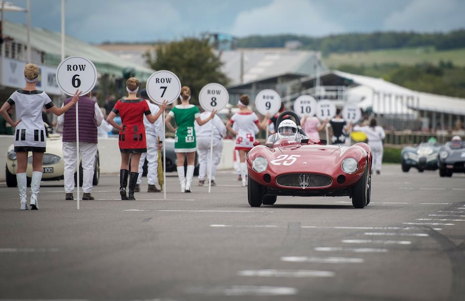 1955 Maserati 300S at the 2018 Goodwood Revival