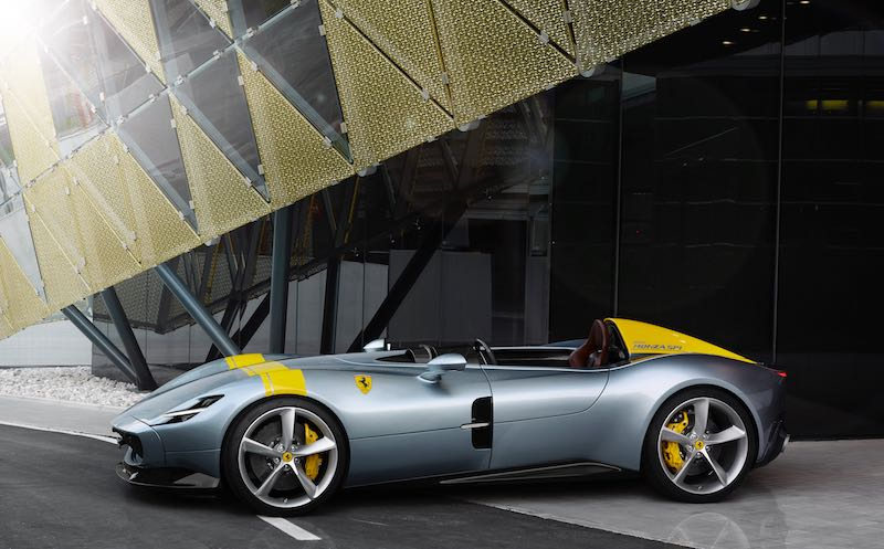 Legend Cars For Sale >> New Ferrari Monza SP1 and SP2 Models Unveiled